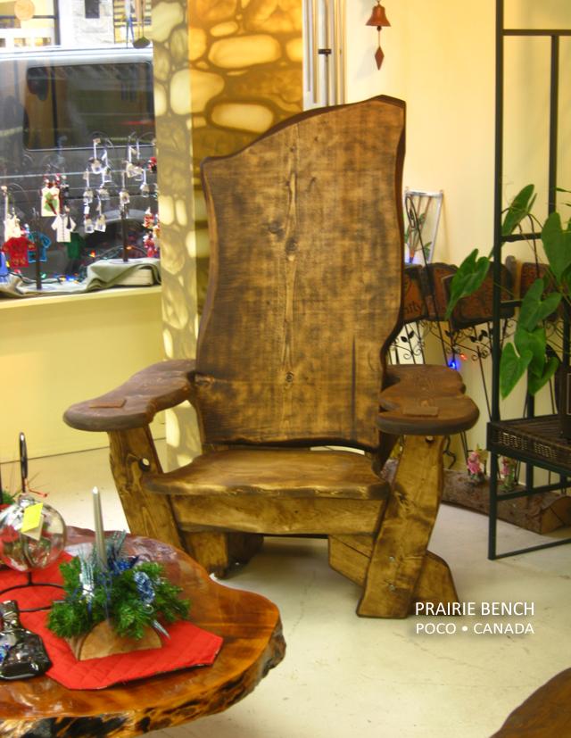 Storyteller Chair Prairie Bench