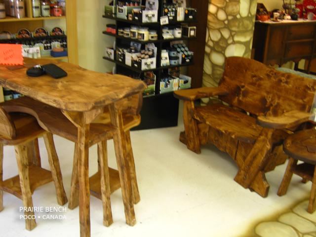 Funky Wood Design Prairie Bench
