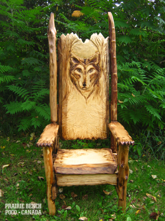 Prairie_Bench_wolf_throne_1