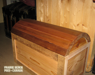 prairie bench cedar chest 2