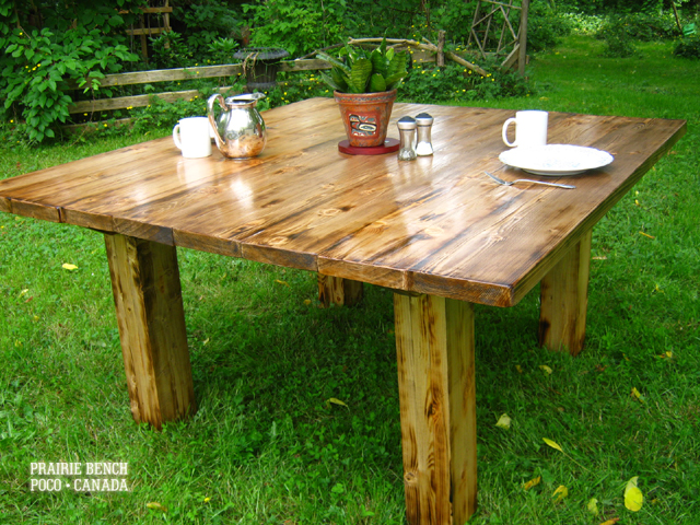 Western Dining Table | PRAIRIE BENCH